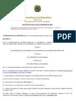 DECRETO Nº 6.759, DE 5 DE FEVEREIRO DE 2009
