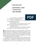 PLAN LECTOR - SEGUNDO - ISLA BLANCA