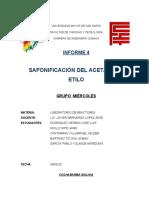 SAPONIFICACION  DE ACETATO DE ETILO GRUPO 5