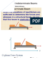 Statically Indeterminate Beams