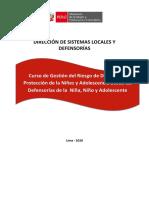 Manual del curso GRD y Protección de NNA desde las DNA