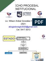 0. JUSTICIA ORDINARIA y JUSTICIA CONSTITUCIONAL