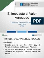 Clase # 6 Presentación del IVA y ISC CICLO I 2021