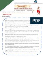 ficha 74 personal social CELEBREMOS EL BICENTENARIO AL RITMO DE LA MÚSICA PERUANA