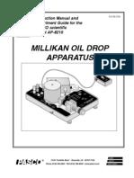 Millikan'sOilDropExperiment