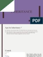 Inheritance dan Abstract Class