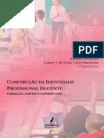Construção da Identidade Profisisonal Docente  - ebook