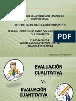 Diferencias Entre La Evaluación Cuantitativa y Cualitativa