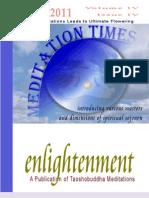 MEDITATION TIMES APRIL 2011