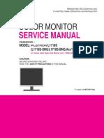 LG-LCD-Monitor-Flatron- L1718S-service-manual