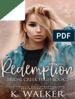 Redemption (Bridal Creek High, 2) by K. Walker (1)