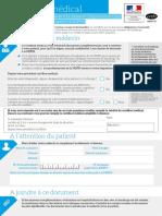 cerfa_médecin demande MDPH