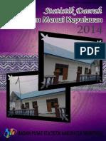Statistik Daerah Kecamatan Menui Kepulauan 2014