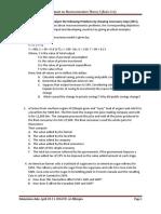 Macroeconomics Assignment-1