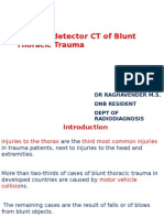 MDCT of Blunt Trauma to chest ss
