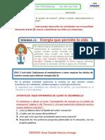 Semana 11 -Ficha Trabajo Ciencia y Yecnologia 4to a-b-c-d-e