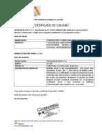 Certificado de Calidad Tr4 Nuevo (Constructora y Consultora Hnos. Gutarra Alarcon s.a.c.)