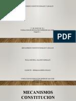 MECANISMOS CONSTITUCIONALES Y LEGALES
