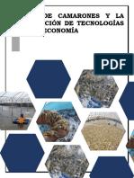 Adopción de la tecnología en la  Cría de Camarones