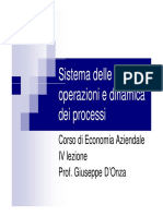 Operazioni e Dinamica Processi (5)