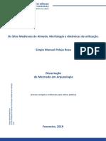 Tese - Os Silos Medievais de Almada_morfologia e Dinâmicas de Utilização