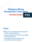 Business Plan for Philippine Mining Devt Corp