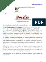 Desafio - Emagrecer De Vez . com