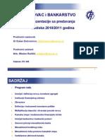 Novac i Bankarstvo, prezentacije 10-11