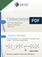 Aula 2 - Revisão Cinética Enzimática