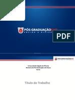 Apresentação Pós EaD_TCC