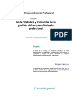 U1_Generalidades y Evolución de La Gestión Del Emprendimiento Profesional