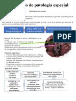 Cuaderno de patología especial