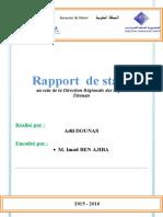 rapport de stage DGI