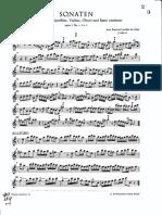 Loeillet - Recorder sonatas