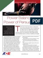 Ace Power Balance Study- Verdict? FAIL