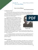 Darío en García Márquez