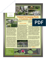 natural swimming pools - front and back