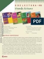 Projeto de Leitura Tique Taque Flavia Muniz