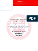 I Elaboración de un ensayo sobre los objetivos y Funciones de la administración financiera_Jacquelin