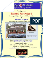 Eternal Melodies Concert Flyer 30Apr2011