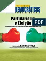 Partidarismo e Eleicao ED