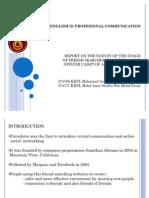 presentation report survey