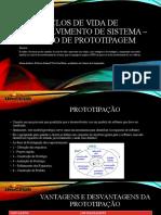 Ciclo de Vida de Software - Modelo de Prototipagem
