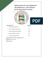 Organización Empresa Servitec