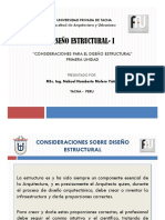 1r. Consideraciones Generales del Diseño Estructural - Diapositivas
