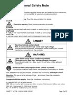 General Safety Note 4189341189 Uk Fr