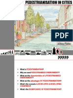 Pedestrianisation
