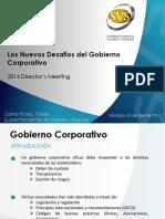 09 B. Opcional Pavez - Los Nuevos Desafíos del Gobierno Corporativo 2014