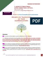 (Privado VII) Sucesiones 02-04-2021 Primer Parcial Rezagados