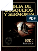 Biblia de Bosquejos y Sermones - Romanos Tomo VII
